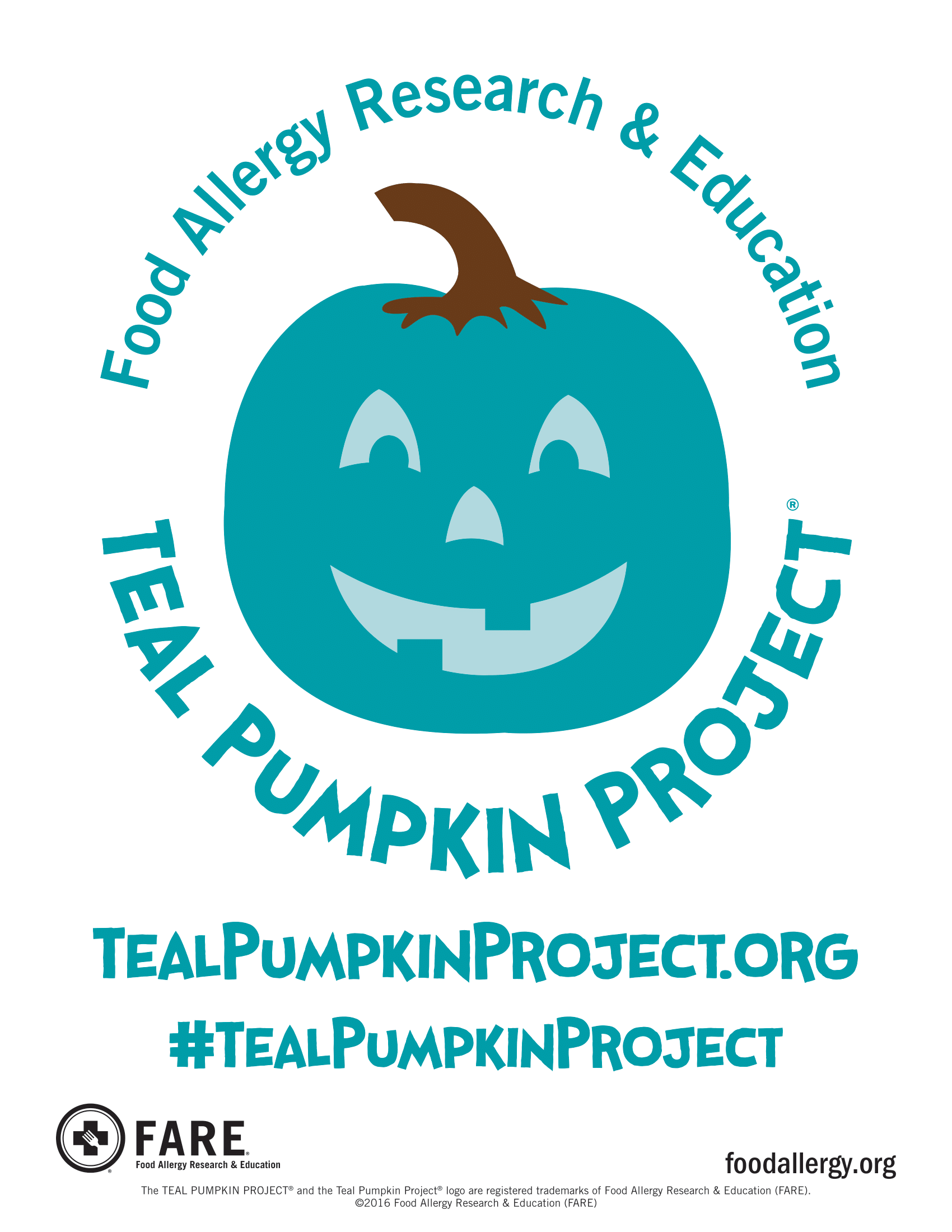 TPP Teal Pumpkin Project SIgnDownload 1 1 - It's Time to Get Teal