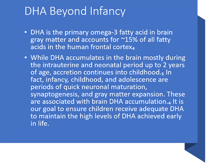 dha beyond infancy - Science Backed